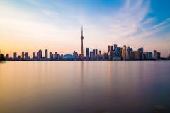 Toronto de stad in Stock Foto's