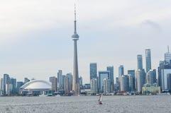 Toronto de stad in Stock Afbeelding
