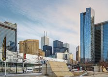 Toronto del centro Immagine Stock