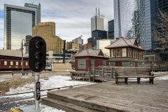 Toronto do centro do museu do trem Imagem de Stock Royalty Free