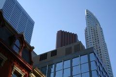 Toronto downtown. Modern Toronto, Canada architecture Royalty Free Stock Image