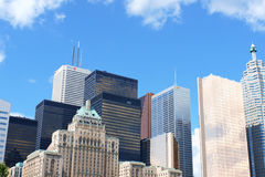 Toronto downtown Stock Images
