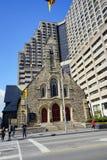 Toronto downtown church Stock Image