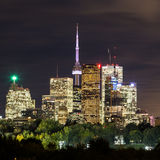 Toronto Downtown at Dusk Royalty Free Stock Image