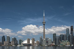 Toronto Downtown Harbor front Stock Images