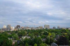 Toronto downtown panorama Royalty Free Stock Photos