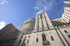 Toronto Downtown Royal York Hotel Stock Image