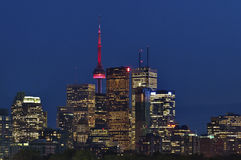 Toronto Downtown Skyline Royalty Free Stock Images
