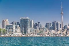 Toronto downtown skyline beautiful view Stock Images