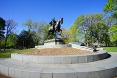 Toronto downtown statue Stock Photos
