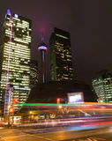 Toronto downtown with traffic Royalty Free Stock Photography