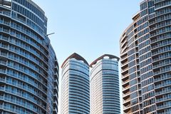 Toronto Downtown. View of high rises in Toronto Downtown Stock Photography