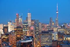 Toronto dusk Stock Images