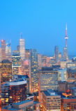 Toronto dusk stock photo