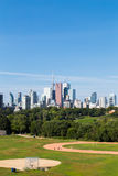 Toronto from the East stock images