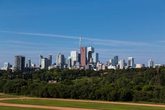 Toronto from the East stock image