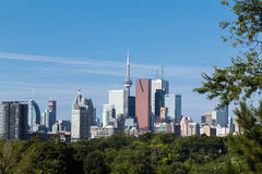 Toronto from the East royalty free stock image