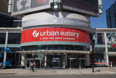 Toronto Eaton Centre Stock Photography