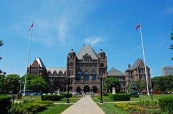 Toronto - edificio de la legislatura de Ontario fotografía de archivo libre de regalías