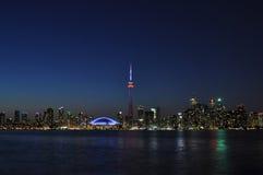 Toronto-Einbruch der Nacht Stockfotografie