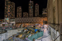 Toronto en construction Image stock