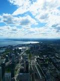 Toronto encima del alto Imagenes de archivo