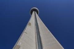 toronto för cn-lakeontario horisont torn Fotografering för Bildbyråer