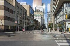 Toronto förorter Arkivbild