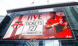 Toronto F.C. Fotografia de Stock
