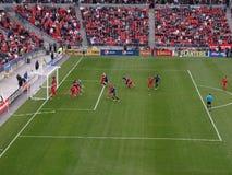 Toronto FC contro i terremoti del San Jose fotografia stock libera da diritti