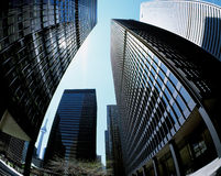 Toronto Financial District Royalty Free Stock Photography