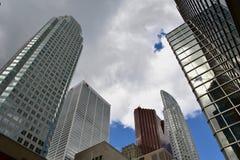 Toronto finansiellt område Royaltyfria Foton