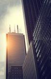 Toronto-Finanzbezirk lizenzfreie stockbilder