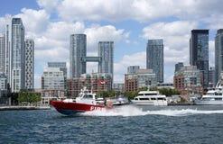 Toronto fire boat Stock Photography