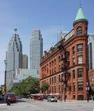 Toronto flatiron building Stock Photo