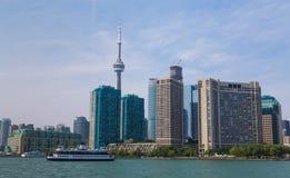 Toronto från öst Fotografering för Bildbyråer