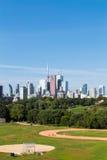 Toronto från öst Arkivbilder