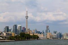 Toronto från det västra Arkivfoto
