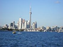 Toronto från ett fartyg Fotografering för Bildbyråer