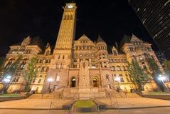 Toronto gamla stadshus arkivbilder
