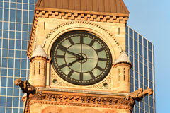 Toronto gammalt stadshus royaltyfri foto