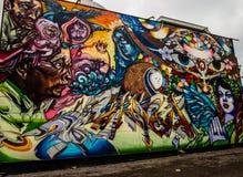 Toronto gatakonst Arkivfoton