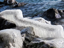 Toronto gleczeru Jeziorny krajobraz 2017 Fotografia Royalty Free