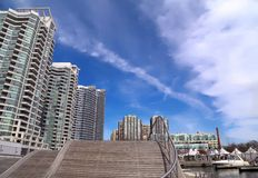 Toronto Harbor Condo stock photo