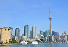 Toronto harbour front Royalty Free Stock Photography