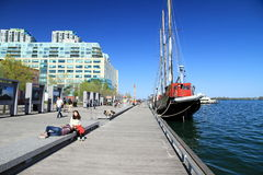 Toronto Harbourfront Royalty Free Stock Photo