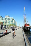 Toronto Harbourfront. A view of Toronto Harbourfront in a nice day of Spring Stock Photos