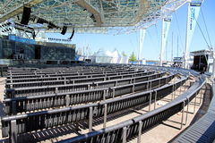 Toronto Harbourfront Centre Amphitheater Royalty Free Stock Photography