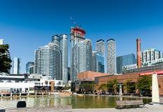 Toronto hi-rise buildings Royalty Free Stock Images