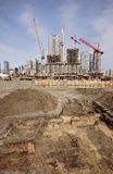 Toronto historic excavation stock images